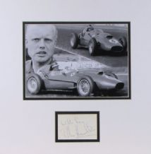 Mike Hawthorn Autograph Signed - Formula 1